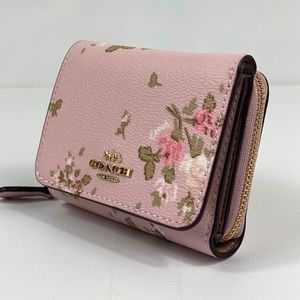 Coach Bags - NWT Coach Small Trifold Waller Pink